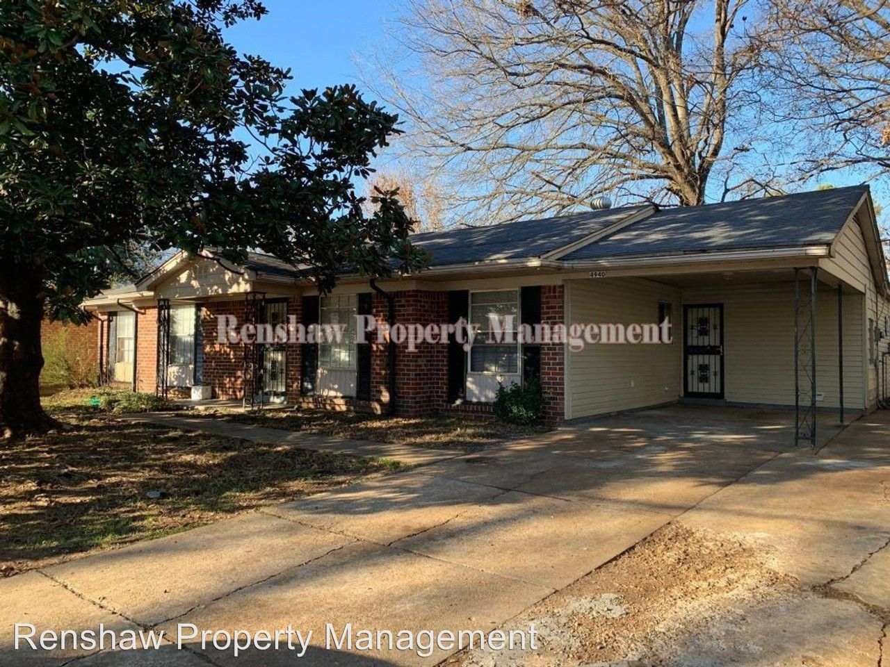 4940 cottonwood rd memphis tn 38118 4 bedroom house for