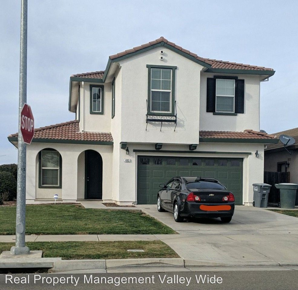 San Jose Apartments Cheap: 493 Beckman Way, Merced, CA 95348 4 Bedroom House For Rent