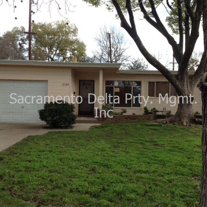 2 Bedroom Apartments Sacramento: 2124 Bell Street, Sacramento, CA 95825 2 Bedroom House For