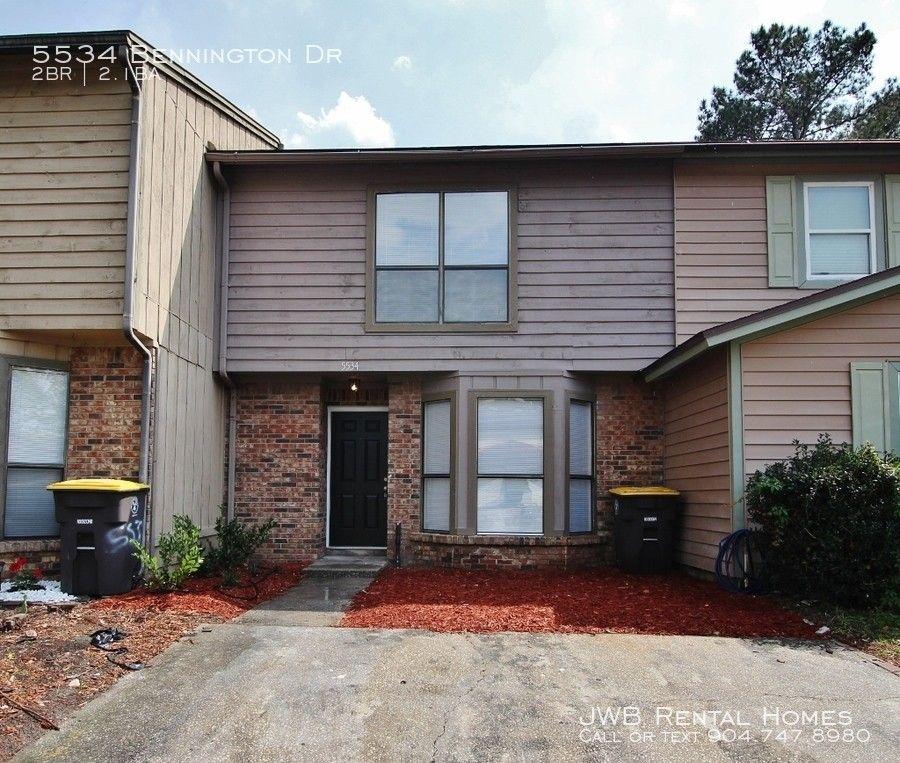 5534 Bennington Dr, Jacksonville, FL 32244 2 Bedroom House