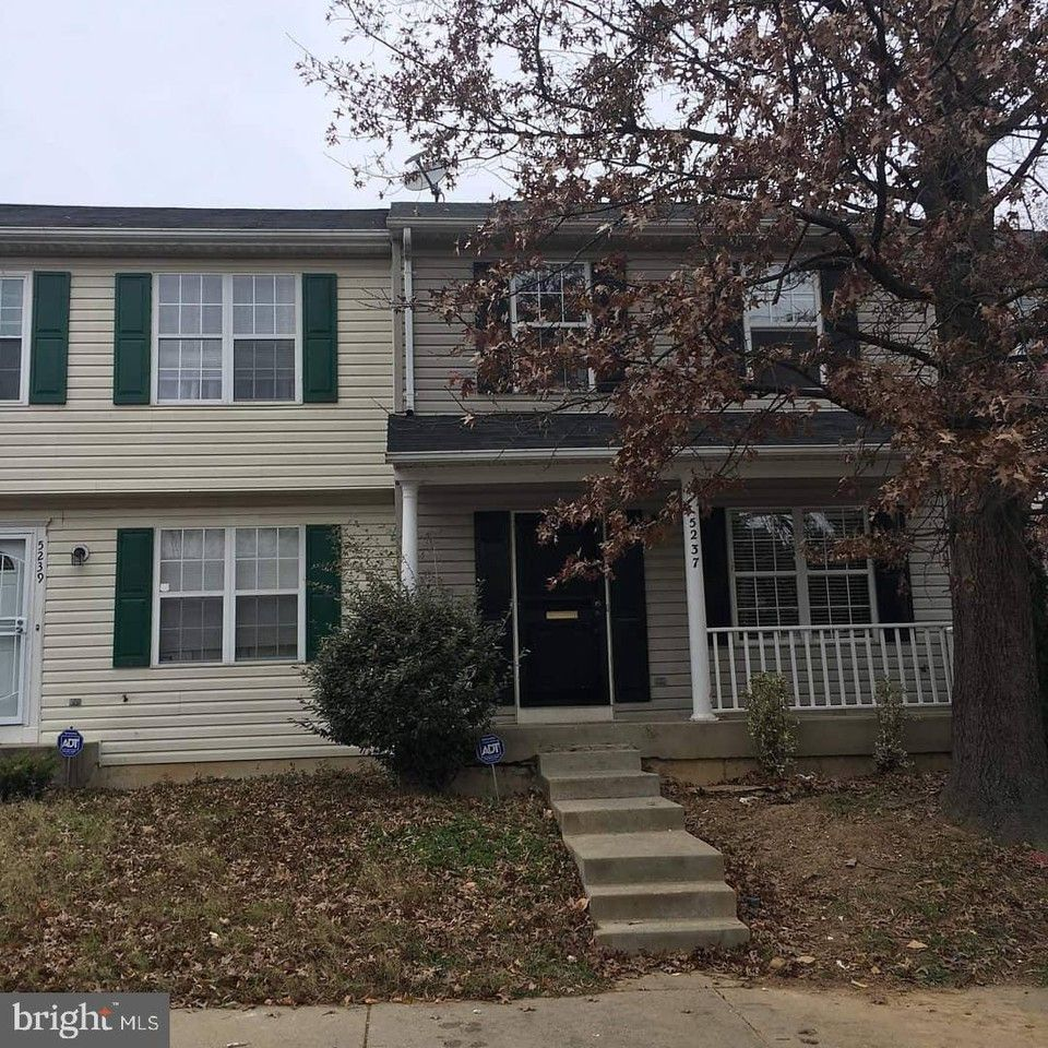 5237 Daventry Terrace, Suitland, MD 20747 3 Bedroom House