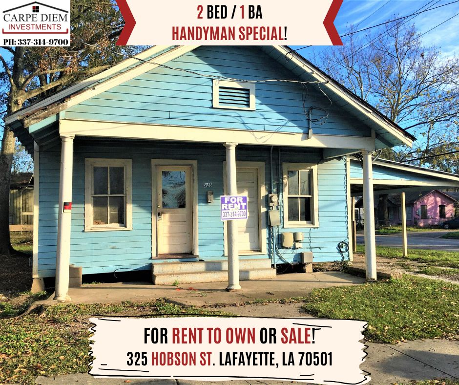 325 Hobson Street Lafayette La 70501 2 Bedroom House For