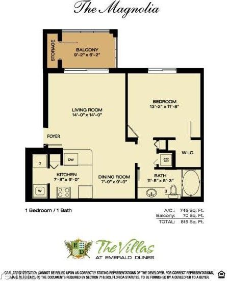 6559 Emerald Dunes Dr #302, Miami, FL 33411 1 Bedroom