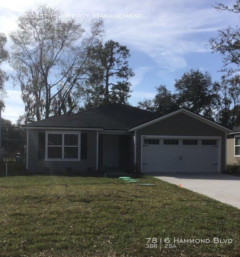 7816 Hammond Blvd, Jacksonville, FL 32220 3 Bedroom House