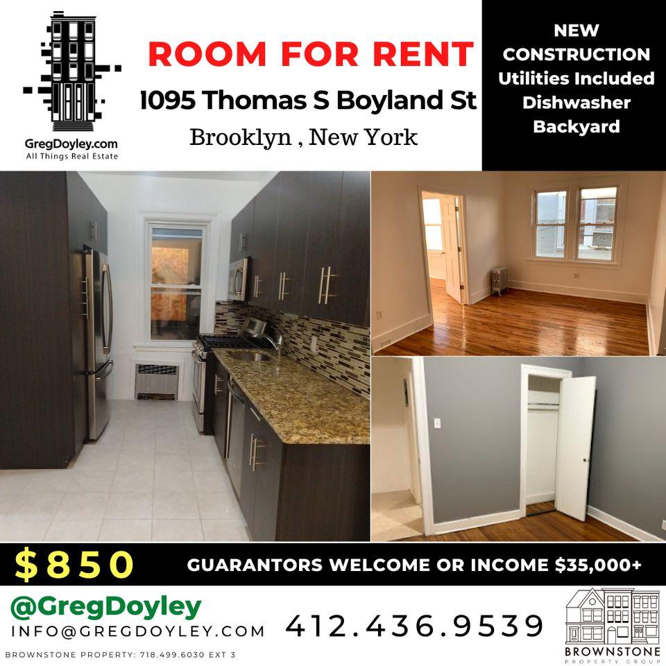 1095 Thomas S Boyland Street, New York, NY 11236 1 Bedroom