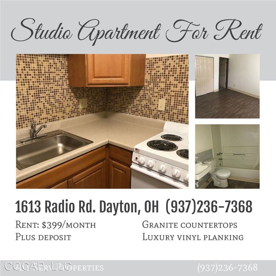1613 Radio Rd. Apartments For Rent In Wright View, Dayton