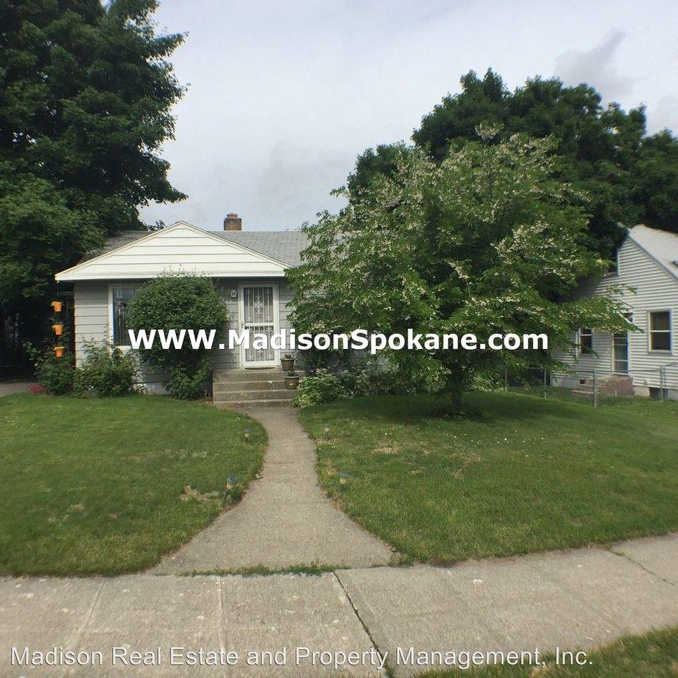 5927 N. Elm St., Spokane, WA 99205 2 Bedroom House For