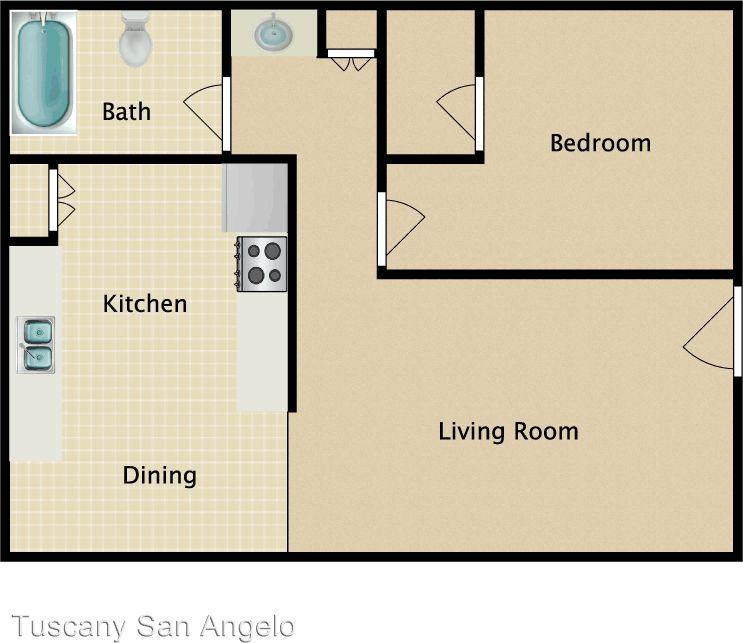 1822 S. Van Buren St. Apartments For Rent In San Angelo