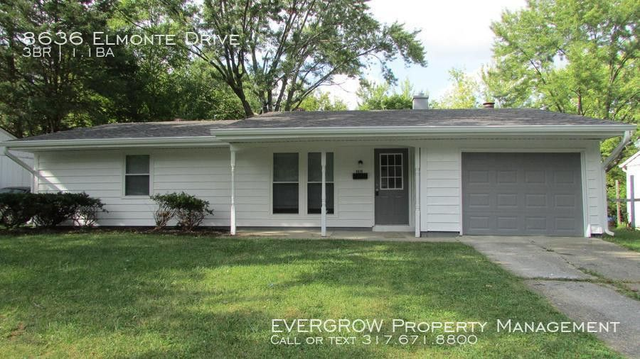 8636 Elmonte Drive, Indianapolis, IN 46226 3 Bedroom House ...