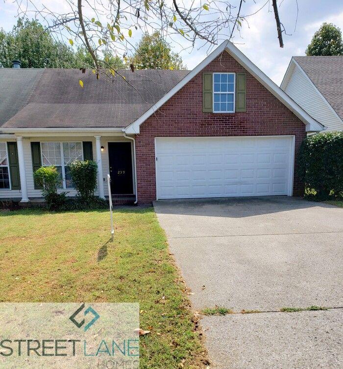 239 Indian Park Drive, Murfreesboro, TN 37128 3 Bedroom