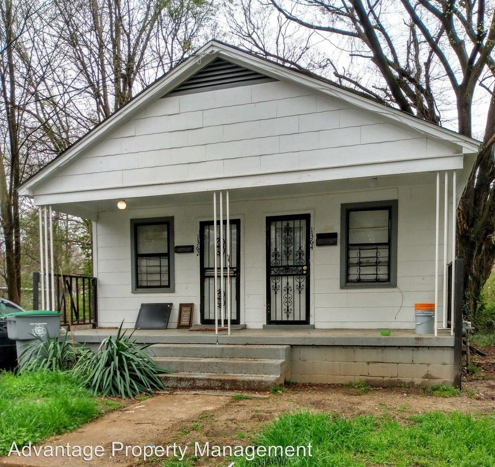 Apartments In Memphis Tn Near Poplar Ave: 1364 Gleason Ave., Memphis, TN 38106 1 Bedroom House For