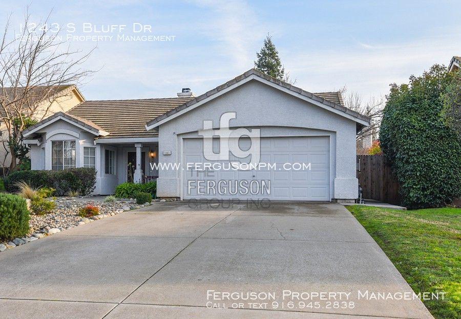 1243 S Bluff Dr, Roseville, CA 95678 3 Bedroom House for ...