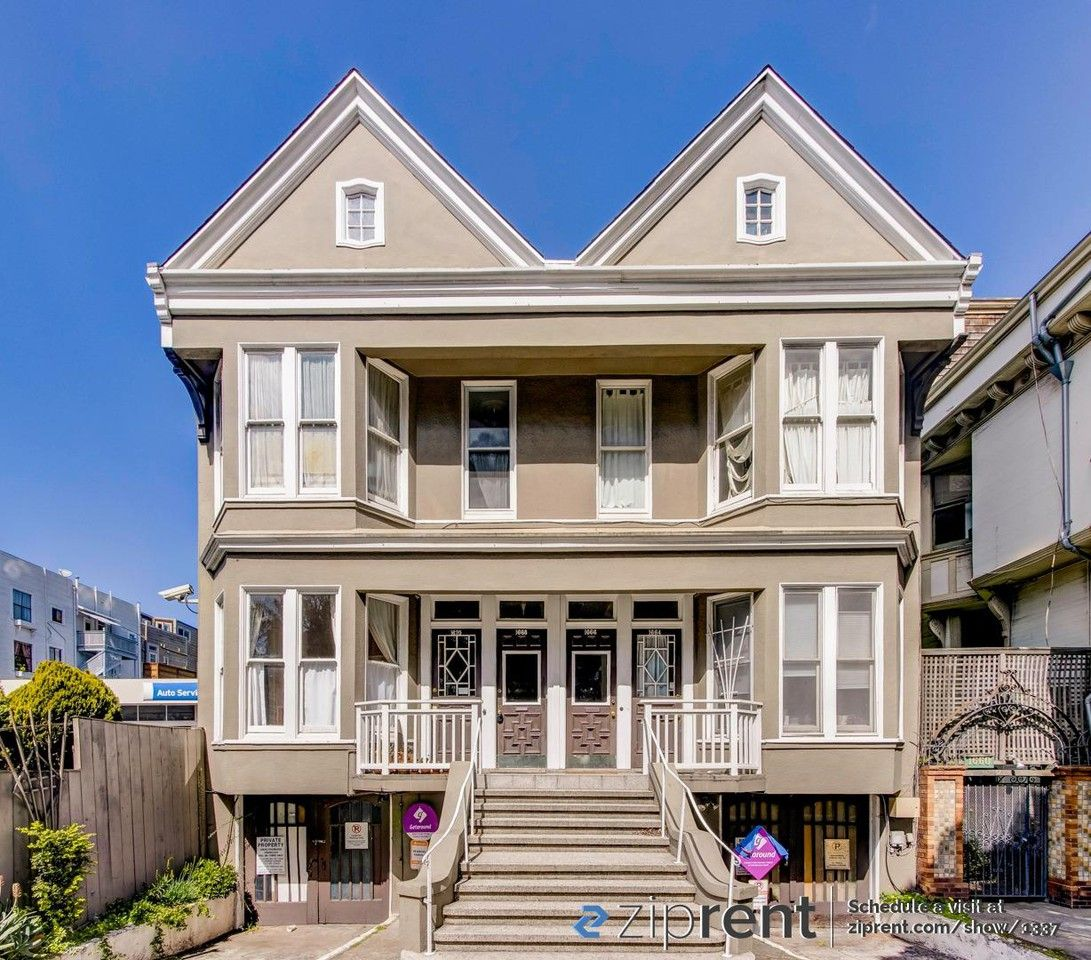 Apartments For Rent San Francisco Mission District: 1664 Fell St, San Francisco, CA 94117