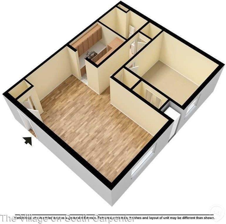 Berea Ohio Apartments For Rent: 1410-1480 South Carpenter Road/ 3202-3260 Pinecrest Drive