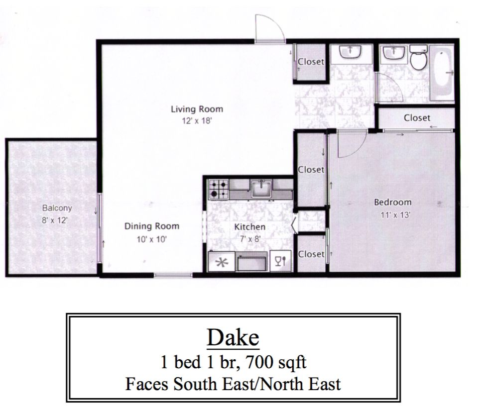 Denver Apartments For Rent: 1055 Logan Street #16th Floor, Denver, CO 80203 1 Bedroom