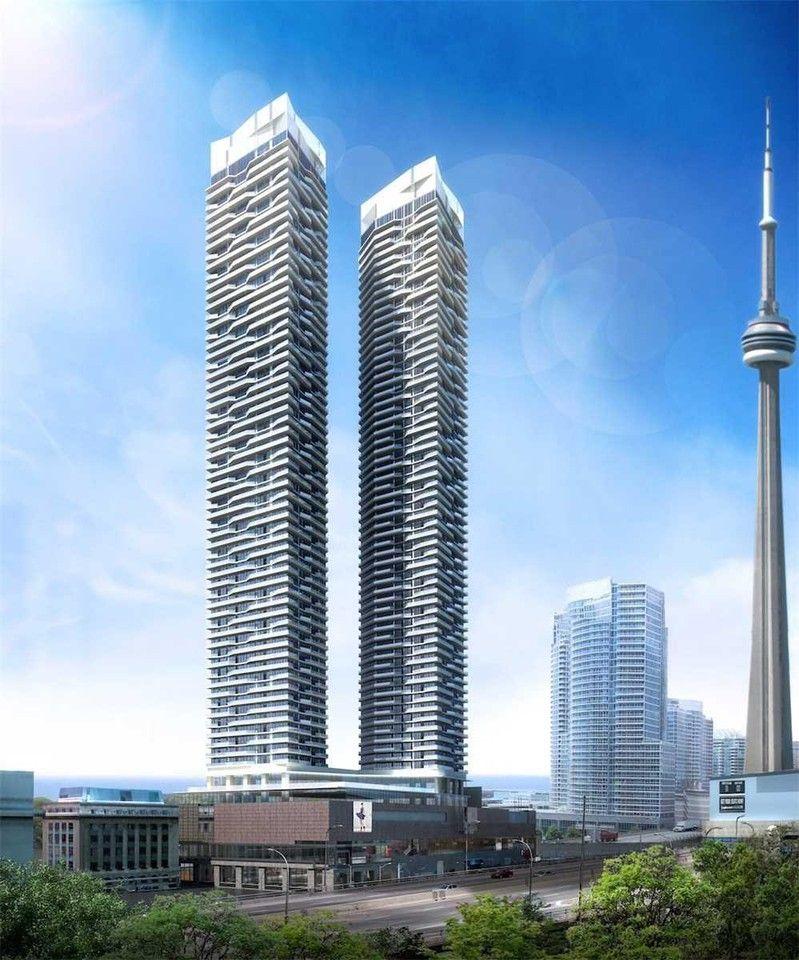 Toronto Canada Apartments For Rent: 100 Harbour Street #2507, Toronto, ON M5J 1B7 1 Bedroom