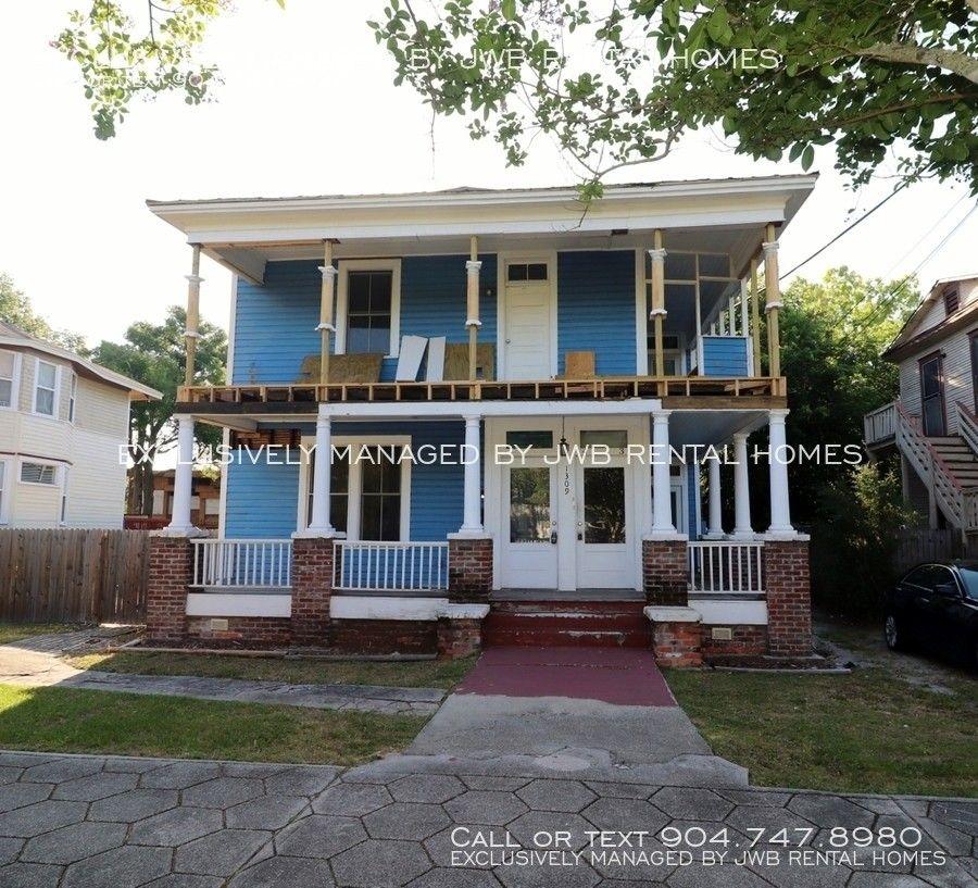 1309 N Market St, Jacksonville, FL 32206 2 Bedroom House