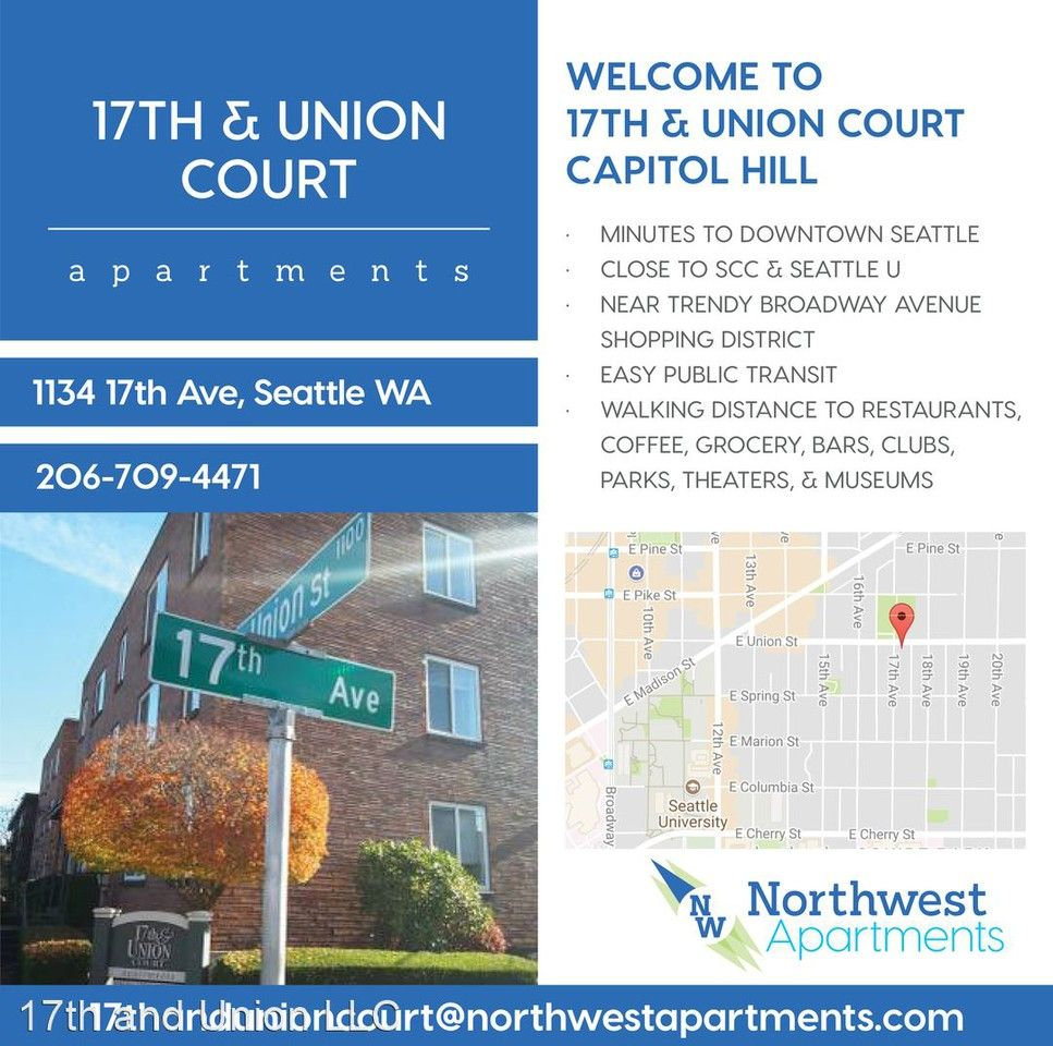 1703 East Union Street Apartments For Rent