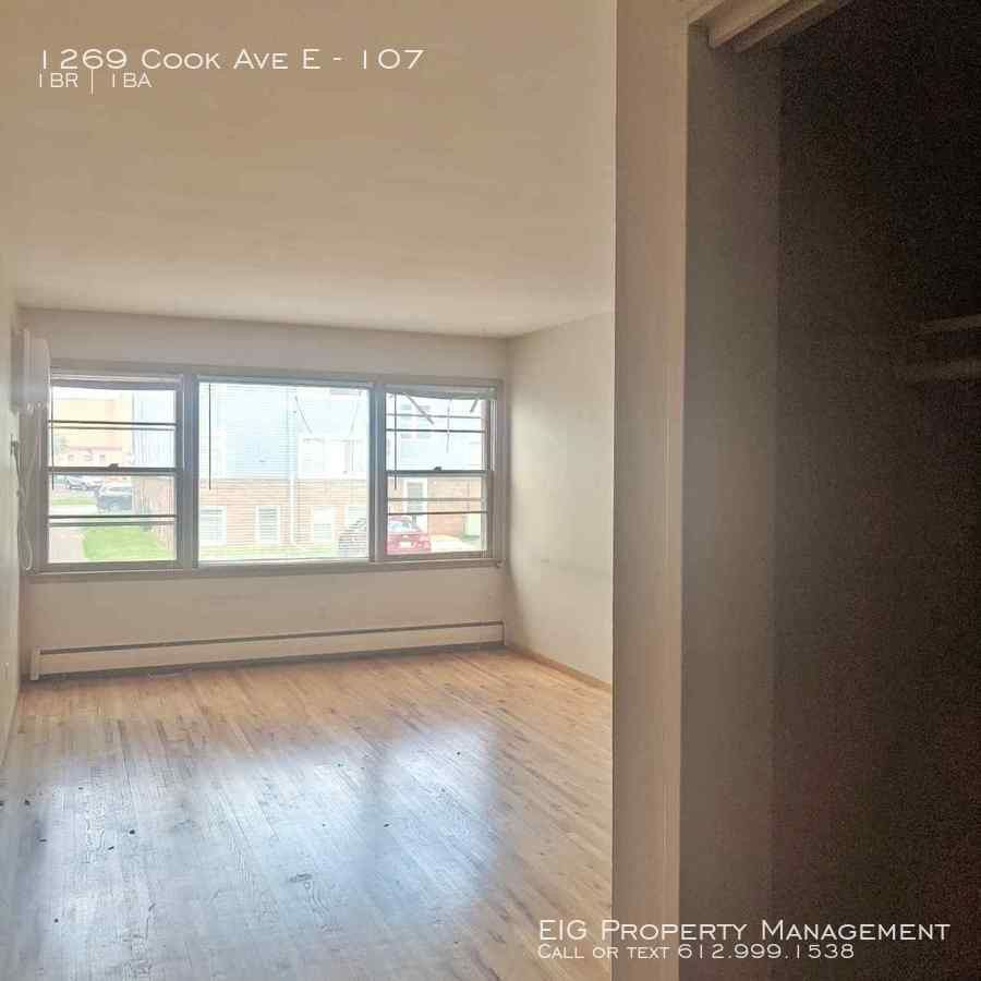 1269 Cook Ave E #107, St. Paul, MN 55106 1 Bedroom