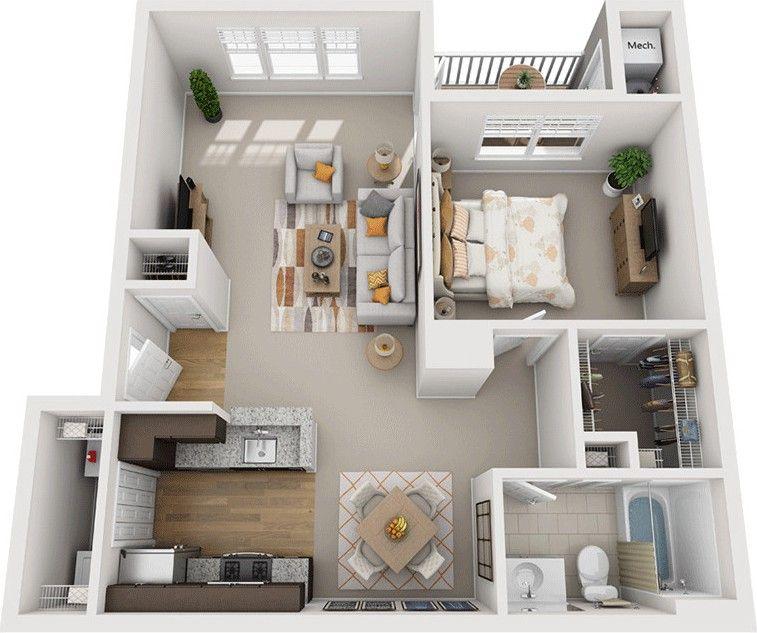 1000 Crane Brook Way #6221, Peabody, MA 01960 1 Bedroom