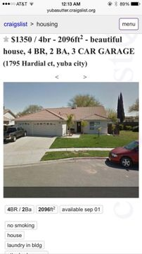 1795 Hardial Ct, Yuba City, CA 95993 4 Bedroom House for