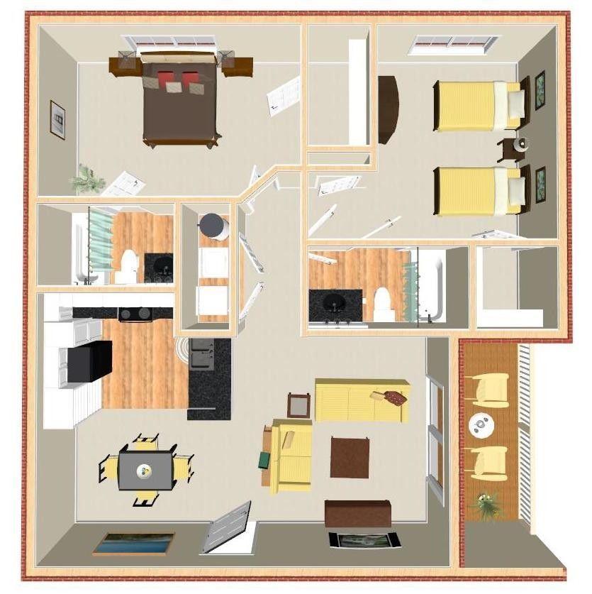 1715 Willow Haven Ln, Charlotte, NC 28262 2 Bedroom Condo